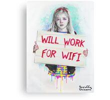 Wi-Fi Lover Canvas Print