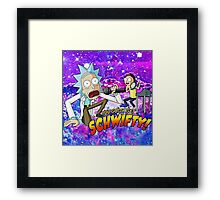 Rick And Morty - You Gotta Get Shwifty Framed Print