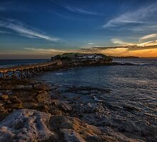 Bare Island Sunset by yolanda