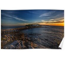 Bare Island Sunset Poster