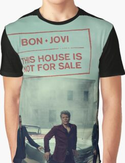 Bon Jovi 2016 New Album : This House Is Not for Sale Graphic T-Shirt