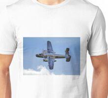 "North American B-25J ""Mitchell"" - Red Bull Unisex T-Shirt"