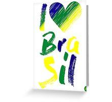 I S2 Brasil Greeting Card