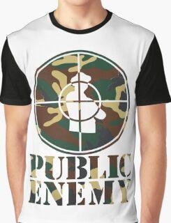 Public Enemy Army Graphic T-Shirt