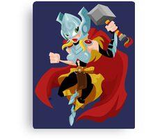 She Thor Canvas Print