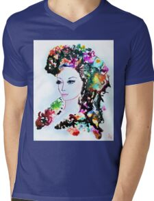 Queen of Nymphs Mens V-Neck T-Shirt