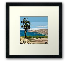Taylor's Mistake, Christchurch by Ira Mitchell-Kirk Framed Print