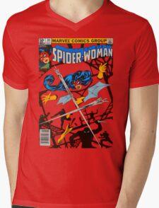 Spider-Woman Mens V-Neck T-Shirt