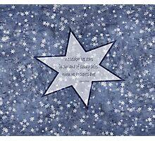 star haiku Photographic Print