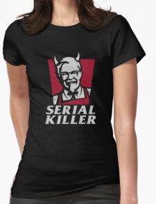Serial Killer Womens Fitted T-Shirt