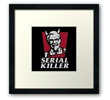 Serial Killer Framed Print