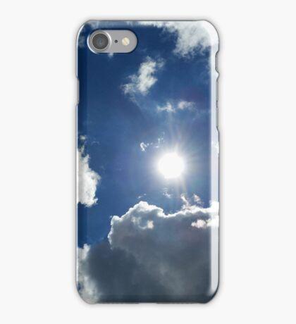 sun and clouds iPhone Case/Skin
