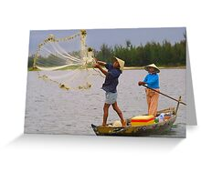Casting the Net Greeting Card