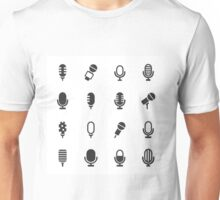 Microphone an icon Unisex T-Shirt