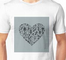 Microphone heart Unisex T-Shirt