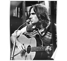 Fire and Rain by James Taylor Poster