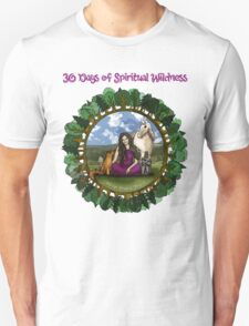 30 Days of Spiritual Wildness - With Course Name Unisex T-Shirt
