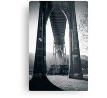 Under St. John's Bridge Metal Print