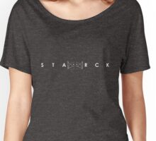 Starck Entries - Simple White Women's Relaxed Fit T-Shirt