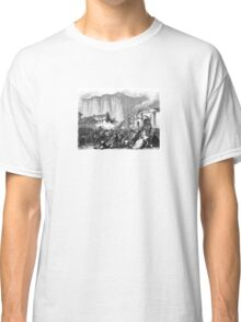 The Bastille – 12 Journals of the Revolution (Barthélemy, Auguste Marseille) Classic T-Shirt