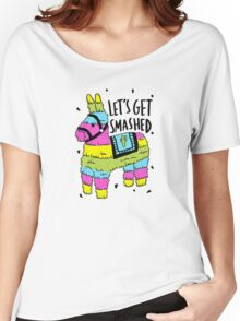 La Pinata Women's Relaxed Fit T-Shirt