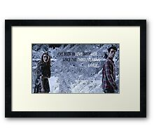 STILES AND LYDIA STYDIA Framed Print