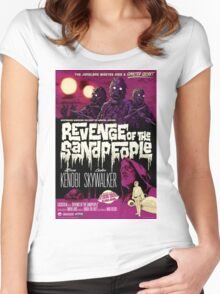 Revenge of the Sandpeople Women's Fitted Scoop T-Shirt