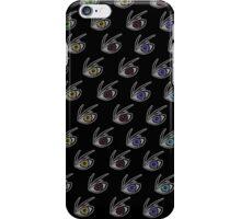 VFD Insignia Pattern - Black iPhone Case/Skin