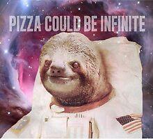Astronaut Sloth  by Danny Tejeda