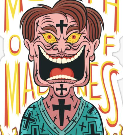 In the Mouth of Madness Sticker