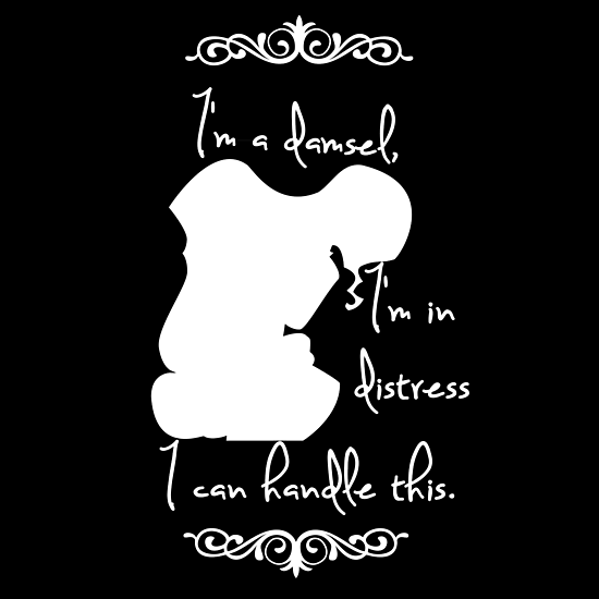 Disney Princesses: Megara (Hercules) *White version* by anemophile