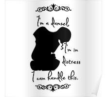 Disney Princesses: Megara (Hercules) *Black version* Poster