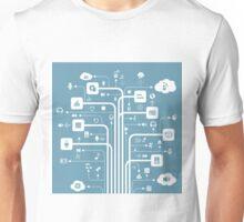 Music a line Unisex T-Shirt