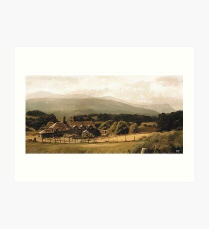 Cadair Idris, Wales - Original Illustration Art Print