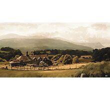Cadair Idris, Wales - Original Illustration Photographic Print
