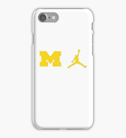 Michigan Jumpman iPhone Case/Skin