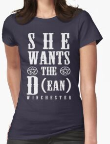 SUPERNATURAL  Womens Fitted T-Shirt