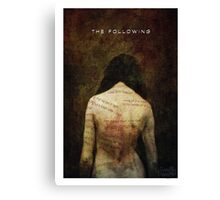The Following Canvas Print