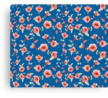 Bindweed seamless tile for your design Canvas Print