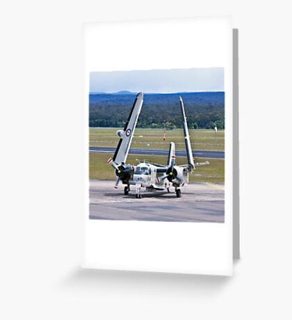 The Tracker - 816 Squadron Greeting Card