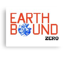 Earth Bound Zero Logo Canvas Print