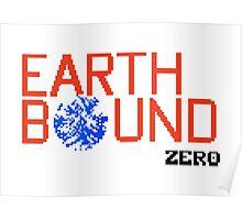 Earth Bound Zero Logo Poster