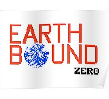 Earth Bound Zero Logo Poster