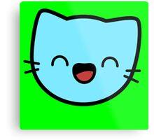 Kawaii Kitty Cats 2048 - tile 32 Metal Print