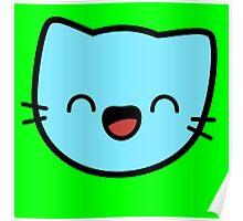 Kawaii Kitty Cats 2048 - tile 32 Poster