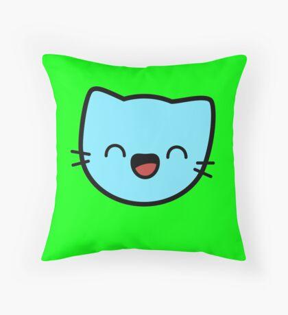 Kawaii Kitty Cats 2048 - tile 32 Throw Pillow