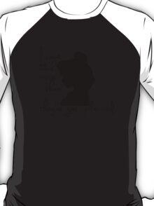 Disney Princesses: Belle (Beauty and the Beast) *Black version* T-Shirt