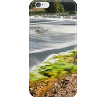 Widest waterfall in Latvia iPhone Case/Skin