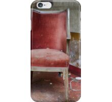 lost red chair iPhone Case/Skin