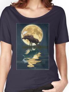 Moose Moon Women's Relaxed Fit T-Shirt